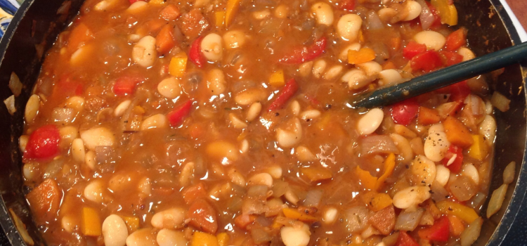 DO VEGANS LIKE LIMA BEANS? – AND HANDY TIPS FOR MAKING A VEGAN STEW.