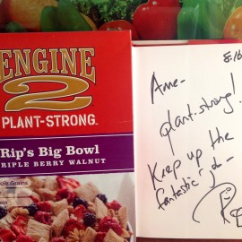 Plant Strong at the Engine2Diet Weekend Retreat