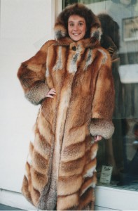 Fox Fur on a Human
