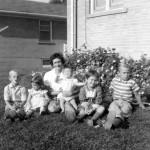 My mom and siblings