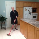 Sharing the Chores - Grammies's Butler!