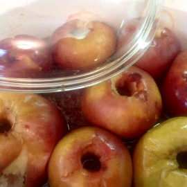 Plant Based Baked Apples and Other Goodies