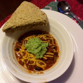 Plant Based Bean Chili: Grand-kid Approved