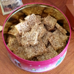 Butterscotch Oat Thins