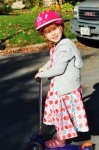 Dressed Up Scooting!!!