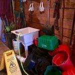 Dish Duties in the Barn