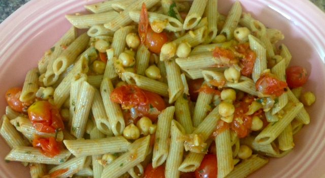 Compassionate Consumption: Cherry Tomato and Chickpea Stir-fry